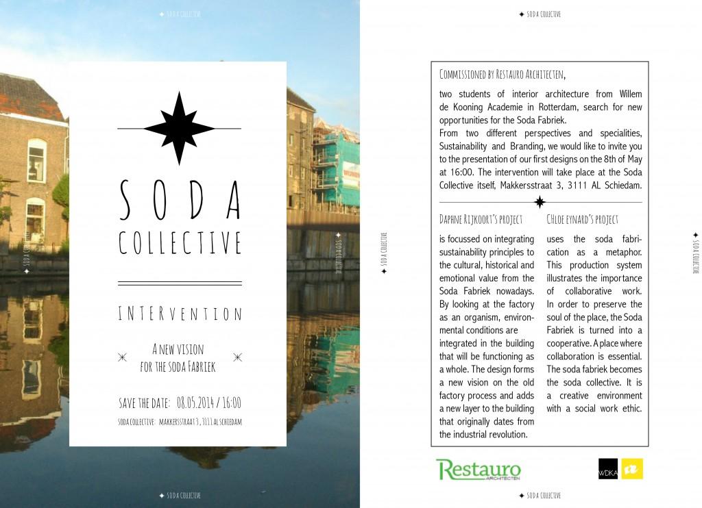 uitnodiging presentatie SodaFabriek WDKA